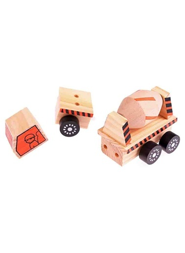 Wooden Machineshop Truck Hobby Toys